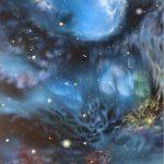 Вселенная.Галактические Порталы, холст, масло, 60х80, 2018 г. Олег М. Караваев (РАБОТА ВНЕ КОНКУРСА!)