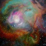 Вселенная.Цикл,холст,масло, 50х60,2011г.