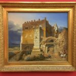 Картина-Гайдек, Карл Вильгельм-Carl Wilhelm von Heideck Aufgang zur Akropolis-1835