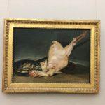 Картина-Гойа (1746-1828),холст,масло,45х170-Ощипанная индейка