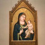 Картина на заказ-Джотто,Мадонна и Дитя, дерево,темпера,1310-1315 гг. Фото А.Прохоровой