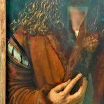 Картина-Дюрер Альбрехт,Автопортрет, Фрагмент, 1500 г. 49х67 см.-фото А.Прохоровой