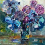 Жигилевич-Время цветения. х.м.50х50, 2018 г.-картины художников