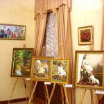 Фото-Картины художников-судей на выставке в рамках Съезда судей Украины