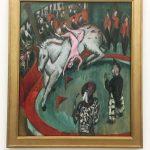Картина-Кирхнер Эрнст (1880-1938 гг.)-Цирк-1913 г.