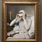Фотография-Макс Габриэль-Gabriel Cornelius von Max Die ekstatische Jungfrau Katharina Emmerich,1885-оттенки белого