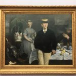 Заказать картину-Мане Эдуард-Завтрак в мастерской, 1868 г. холст, масло, 120х170 см.