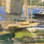 Картина-Моне Клод-Claude Monet Seinebrucke von Argenteuil, 1874-фрагмент Фото А.Прохоровой