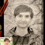 Заказать портрет-Мужской портрет,бумага,карандаш,20х30, 2017 г. Олег М. Караваев