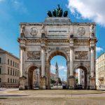 Фото-Мюнхен-Достопримечательности-Триумфальная арка