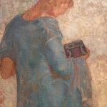 Картина на заказ-Одилон Редон-Пандора,1910-1912 гг.Фрагмент2