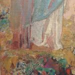 Картина-Одилон Редон-Пандора,1910-1912 гг.Фрагмент3