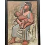 Картина-Пикассо,Мать и дитя, 1921 г.