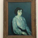 Картина-Пикассо Пабло,Мадам Солер,1903