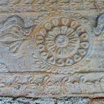 Фото-Римская плиточка с символами.