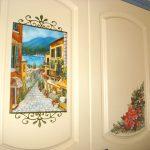 Роспись мебели ( по мотивам) -Кухня, МДФ, масло, лак - художественная роспись