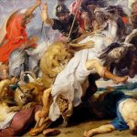 Картина маслом-Рубенс Питер Пауль-Охота на львов-1621