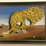 Картина-Сальвадор Дали-Загадка желания-Мою мать,мою мать, мою мать,холст, масло,110х150