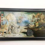 Картина-Сальвадор Дали-Апофеоз Гомера, холст, масло, 64х117 см. 1944-45 гг.