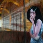 Картина-Серия-Одесса-старые дворики, холст, масло, 60х80 см. Дмитрий Косариков