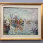 Картина-импрессинизм-Синьяк Поль-Paul Signac S. Maria della Salute, um 1904