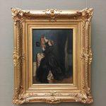 Фото-Стивенс-Alfred Stevens- Im Boudoir, um 1870-фото Анна Прохоровой