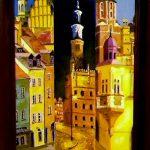 Три города_холст,масло,30х40,2003 г.Караваев Олег ...