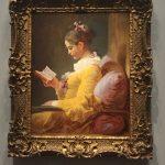 Картина-Фрагонар -The reader, c. 1770–1772