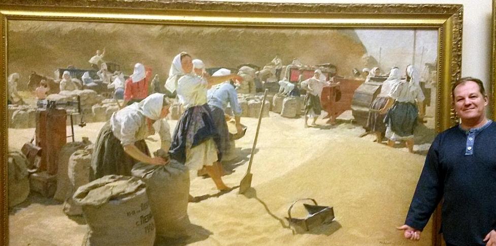 Заказать катину - Хлеб_Т.Яблонской и художник Олег М. Караваев