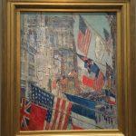 фото-Чайльд Гассам,День союзников,1917 г.