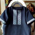 Вышивка крестом-Чоловіча вишиванка, муліне peri, тканина бавовна,Катерина Черненко