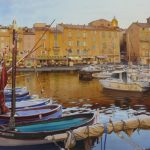Aquarelle originale - Saint-Tropez...- заказать картину