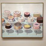 Заказать карттину-Thiebaud Wayne-Cakes, холст, масло,1963 г.