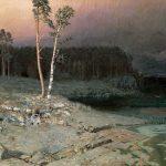 Картина на заказ-Архип Иванович Куинджи. На острове Валааме