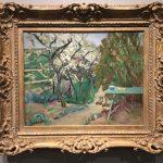 Картина-Боннар Пьер-Зелёный стол