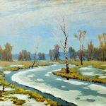 Картины художников-Архип Куинджи - Ранняя весна