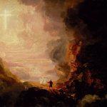 Заказать картину-Коул Томас-Cole-Pilgrim_Cross_End