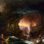 Картина-Коул Томас-Cole_-_The_Voyage_of_Life_Manhood,_1840