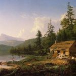Картина-Коул Томас-Cole_Thomas_Home_in_the_Woods_1847