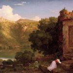 Коул Томас-Cole_Thomas_Il_Penseroso_1845 - копия-картина