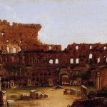 Картина-Коул Томас-Cole_Thomas_Interior_of_the_Colosseum_Rome_1832