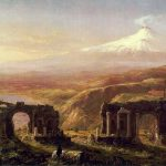 Картина-Коул Томас-Cole_Thomas_Mount_Aetna_from_Taormina_1844
