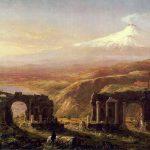 Картина-Коул Томас-Cole_Thomas_Mount_Aetna_from_Taormina_1844