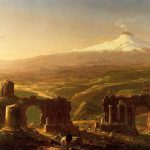 Картина-Коул Томас-Cole_Thomas_Mount_Etna_from_Taormina_1843