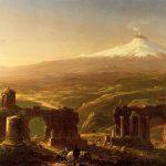 Картина-Коул Томас-Cole_Thomas_Mount_Etna_from_Taormina_1843