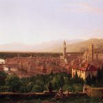 Картина-Коул Томас-Cole_Thomas_View_of_Florence_from_San_Miniato_1837