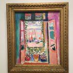 Картина-Матисс-Открытое окно,1905 г.