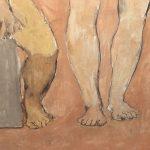 Заказать картину-Пикассо Пабло-Двое юношей-фрагмент