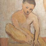 Картина-Пикассо Пабло-Двое юношей