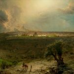 Заказать картину-Чёрч Фредерик-Church_Frederick_Edwin_Jerusalem_from_the_Mount_of_Olives